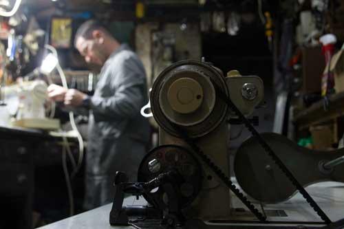 Paulo Sousa, maquinas de costura na mouraria