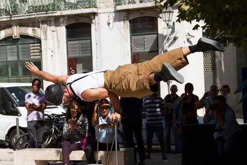 Lisbon Busking Festival - Chapeus na rua